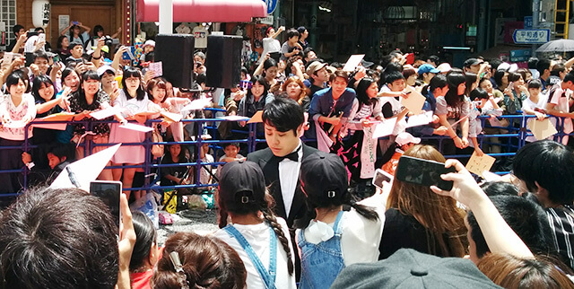 第9回沖縄国際映画祭at那覇市国際通り
