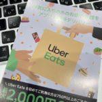 UberEatsチラシ